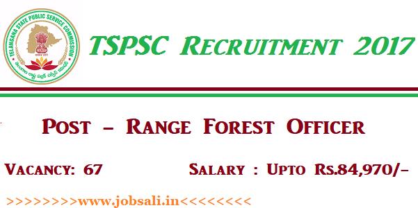 TSPSC Notification, TSPSC Forest Officer Vacancy, Govt jobs in Telangana