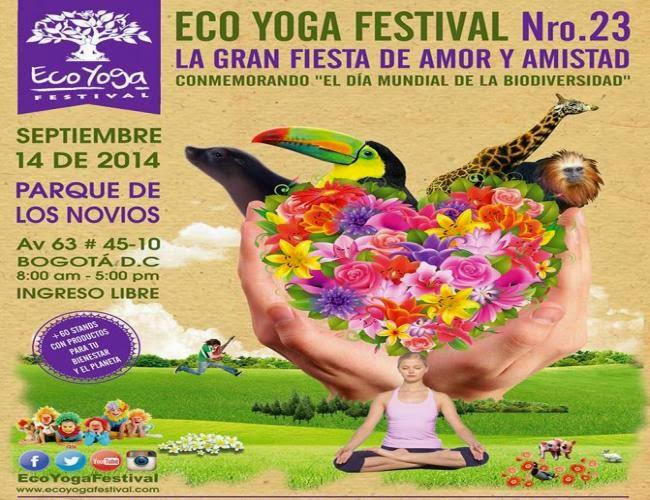 ECO YOGA FESTIVAL parque de los novios Bogotá