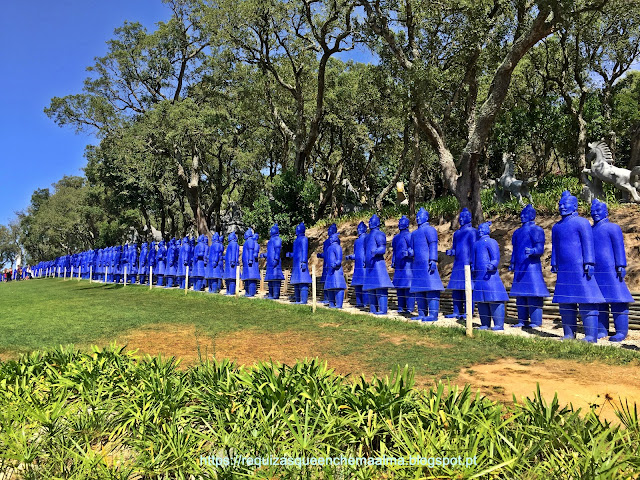soldados de terracota Bacalhôa Buddha Eden