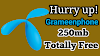 তাড়াতাড়ি, সীমিত সময়ের অফার! সকল গ্রামীনফোন ইউজাররা নিয়ে নিন 250mb একদম ফ্রি।