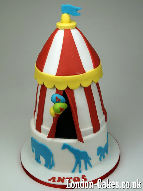 Circus Birthday Cake Delivered in London