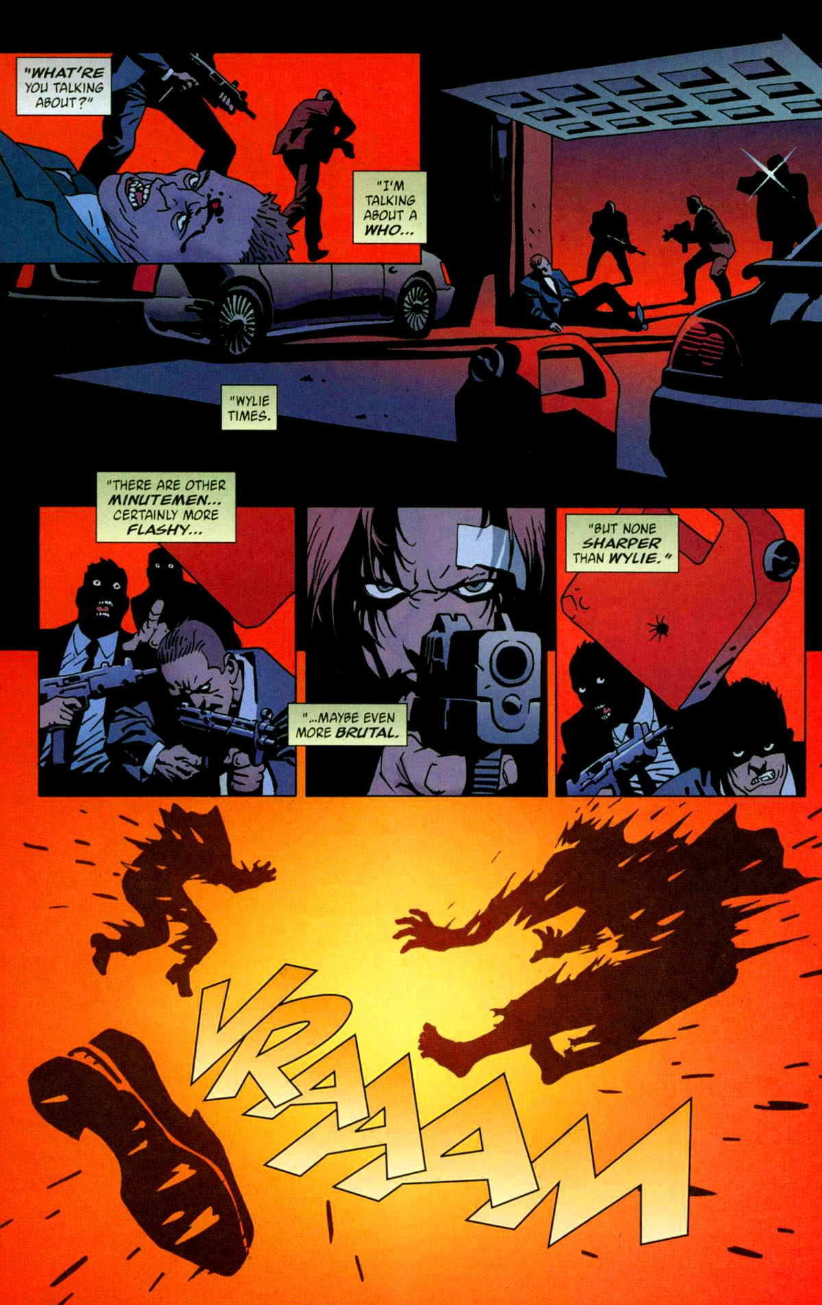 Read online 100 Bullets comic -  Issue #56 - 14