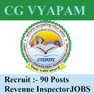 CGVYAPAM, Chhattisgarh, Chhattisgarh Professional Examination Board, freejobalert, Graduation, Latest Jobs, Revenue Inspector, Sarkari Naukri, cgvyapam logo