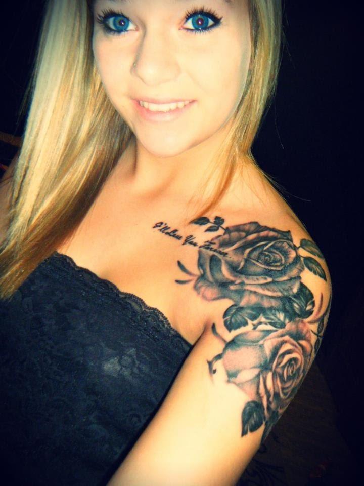 Tatuajes Para Hombro Y Omoplato Belagoria La Web De Los Tatuajes - Tatuajes-diseos-para-mujeres-en-el-hombro