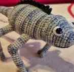 Camaleon, Chameleon, Amigurumi