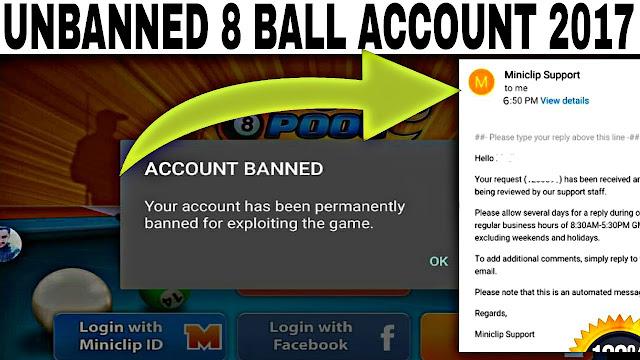 Facebook game unban