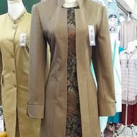model baju batik guru terbaru 2019