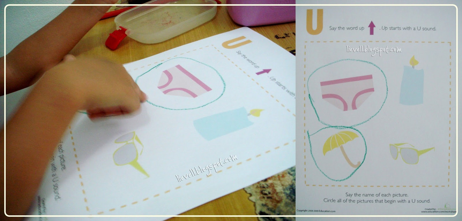 Preschool Letter U And Chinese New Year