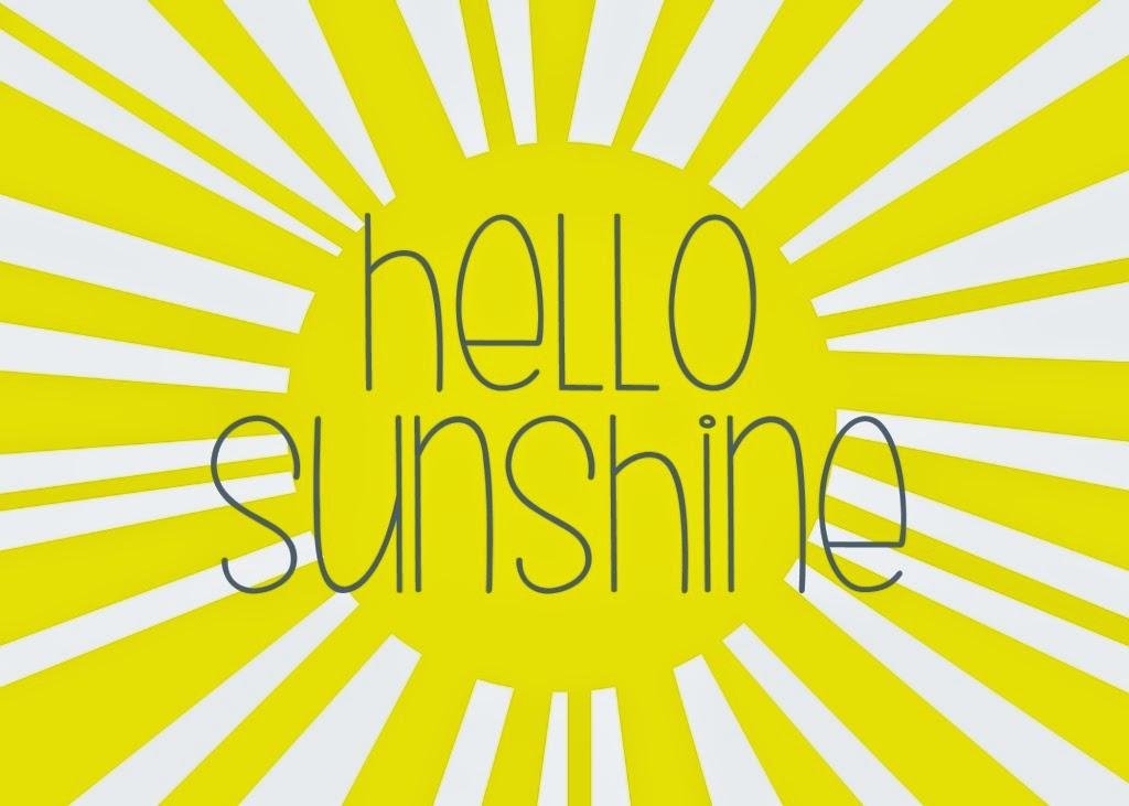 photograph relating to Box of Sunshine Printable identified as Wonderful Hi Sun Print #FP09 Advancedmagebysara