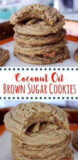 Brown Sugar Coconut Oil Cookies Fresh From The