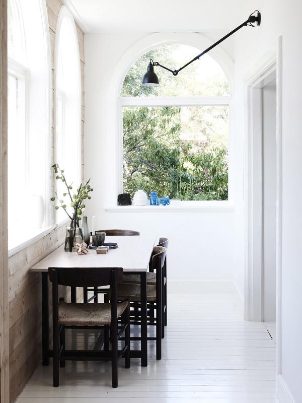 Swedish summer house interior