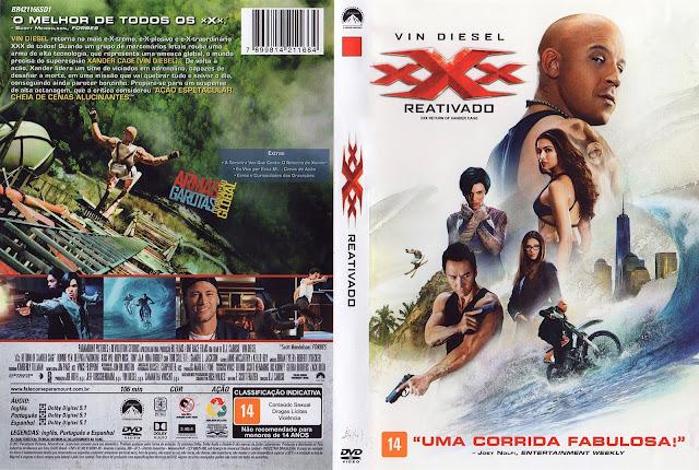 Capa DVD xXx Reativado (Oficial)