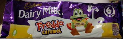 Cadbury Freddo caramel chocolate