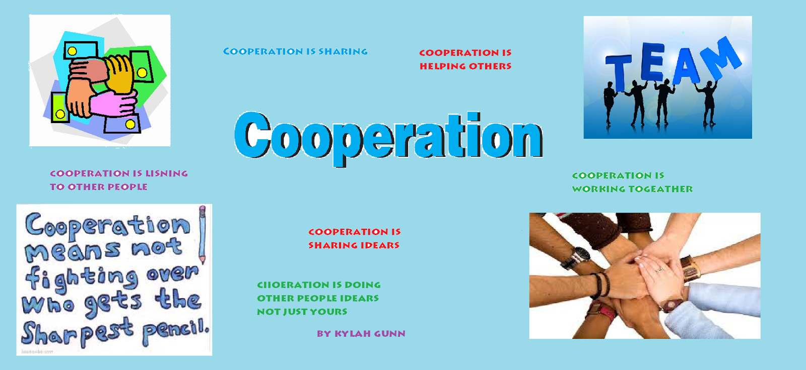 Examples Of Cooperation Related Keywords - Examples Of ...