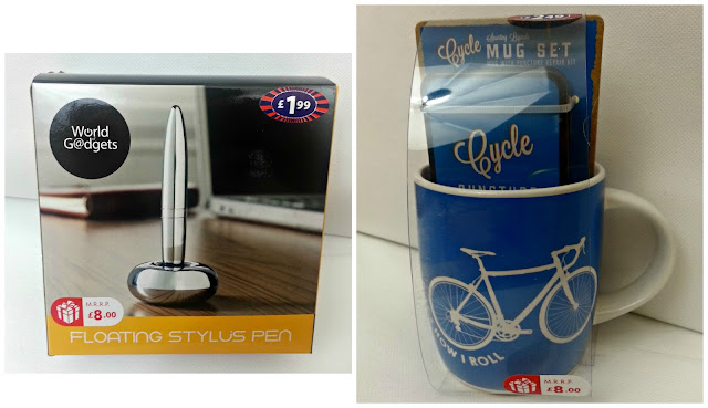 Floating Stylus Pen and Cycle Mug Set