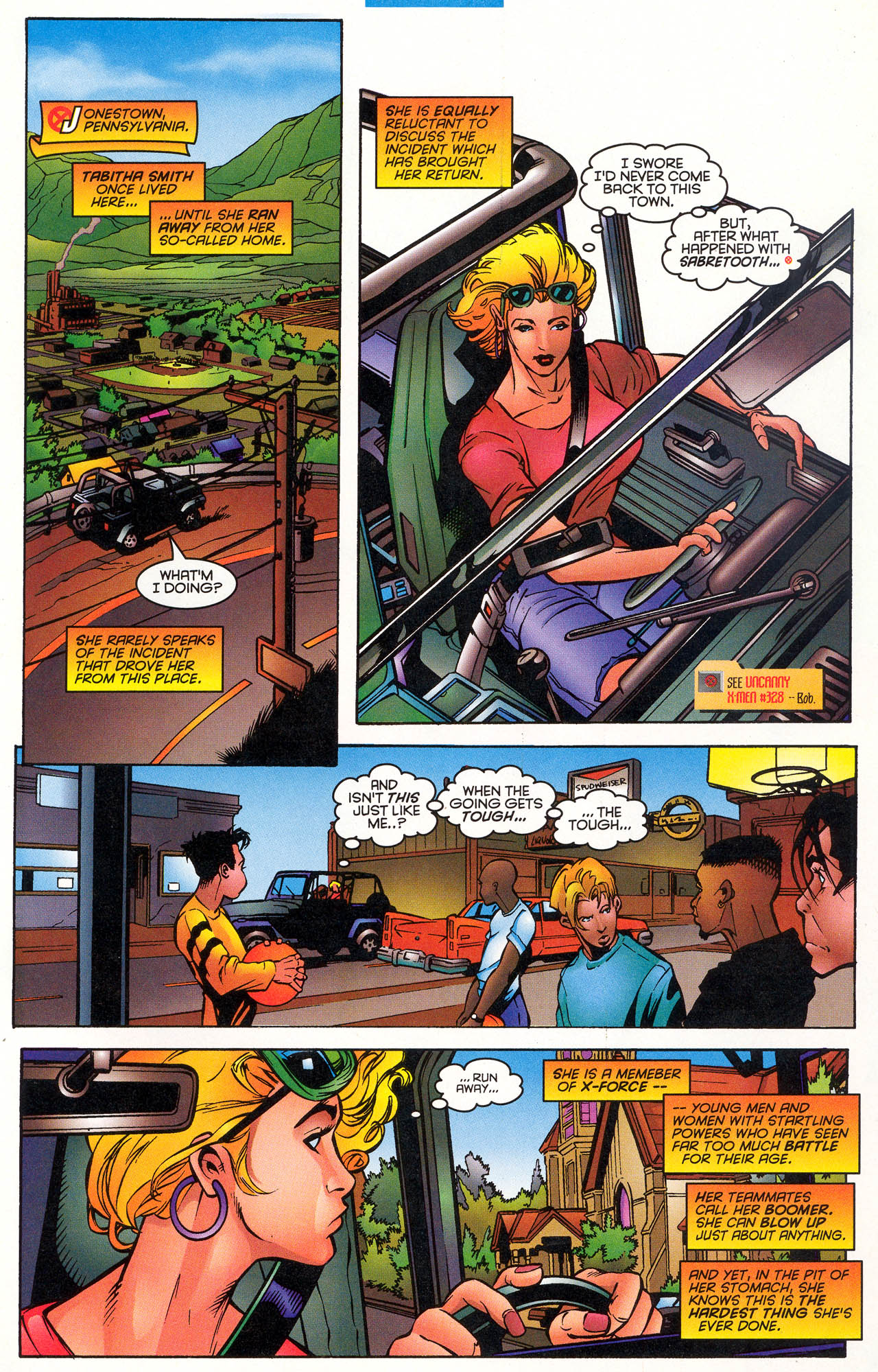 Read online X-Force (1991) comic -  Issue #49 - 8