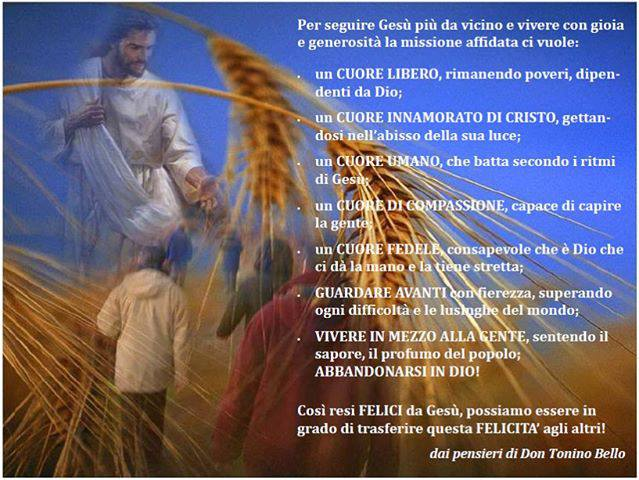 Eccezionale leggoerifletto: Caro Gesù - don Tonino Bello UZ81