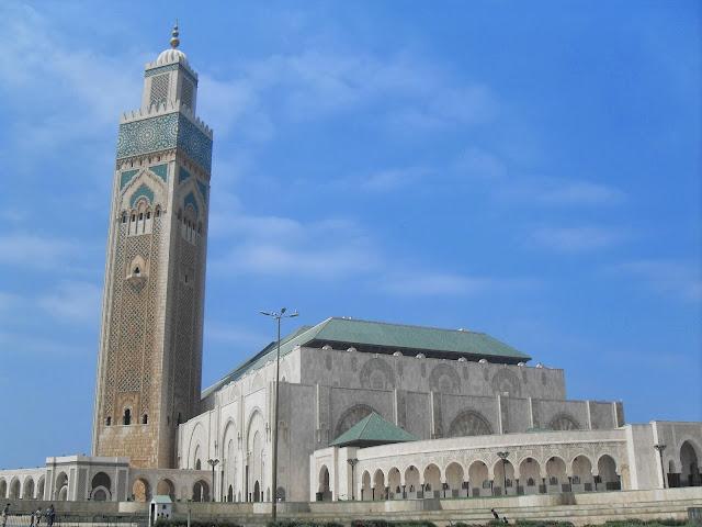 la gran mezquita de casablanca