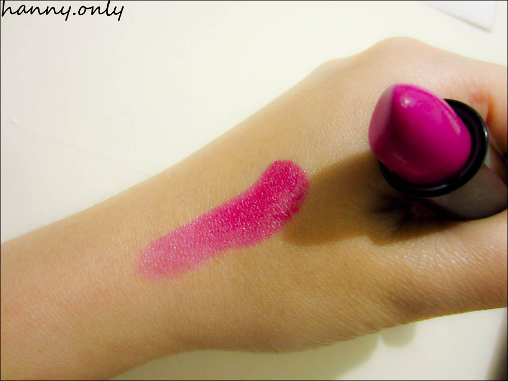 hanny.only: NYX Black Label Lipstick in BL 101 HOT PINK