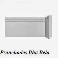 Rodapé de Poliestireno Santa Luzia 493 Branco