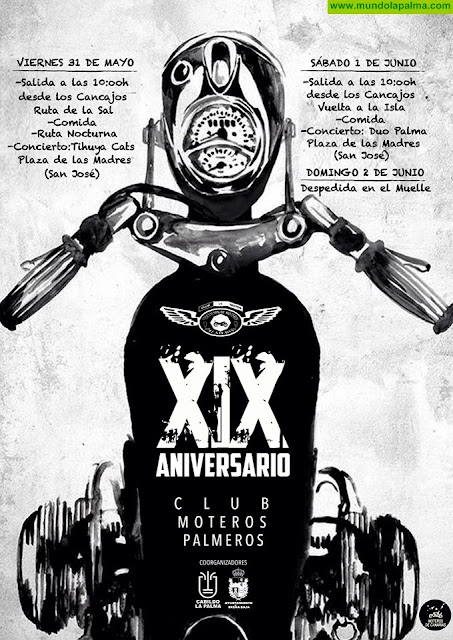 """XIX Aniversario del Club """"Moteros Palmeros"""""""
