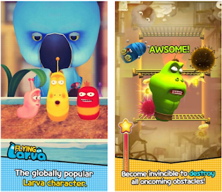 Flying LARVA Apk