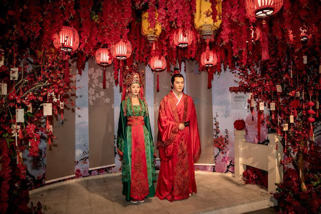 wax figure The Story of Minglan