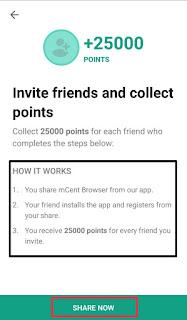mcent share