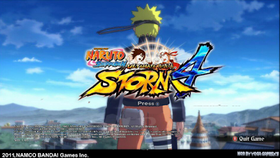 Download Naruto Ninja Storm 4 MOD Texture New 2018  CSO ISO PSP PPSSPP