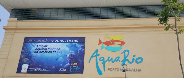 Fachada do AquaRio
