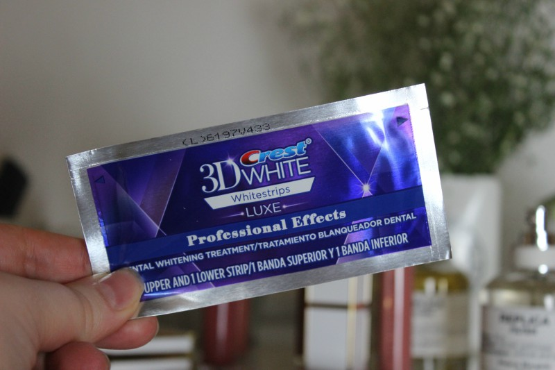 Crest 3d White Luxe Professional Effects Whitening Strips Review