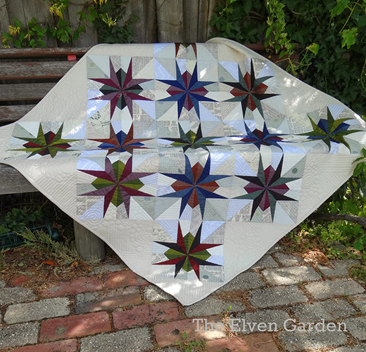 St Louis Star Quilt Free Tutorial