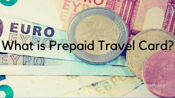 What is prepaid travel card?