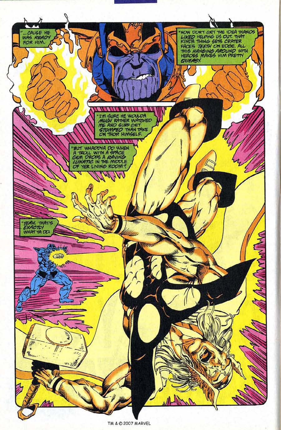 Read online Silver Surfer (1987) comic -  Issue #88 - 12