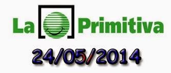 Sorteo de La Primitiva del sábado 24 de mayo de 2014