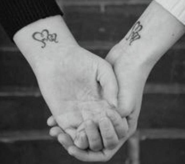 25 Interlocking Tattoo Designs Ideas: Interlocking Wedding Band Tattoos