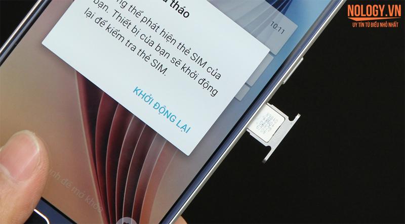 Trên tay chiếc Galaxy S6 cũ