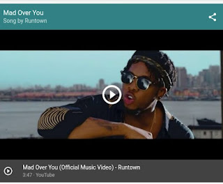 Runtown - Mad over You (Download link below)