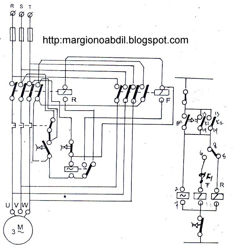 wiring diagram motor 3 fasa