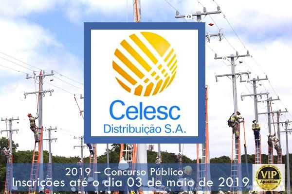 CelescSC abre inscrições de Concurso Público para 17 vagas