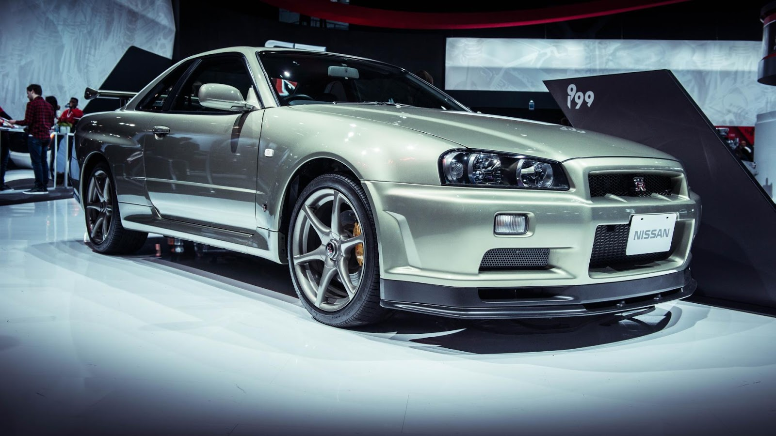 R34 Nissan Skyline GT-R M-Spec