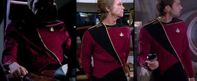 TNG season 1 admiral uniform - front pleats