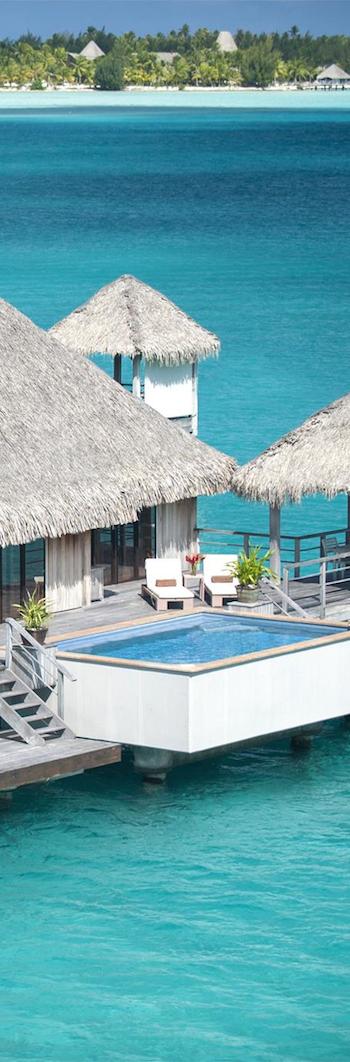 St. Regis Bora Bora Water villa