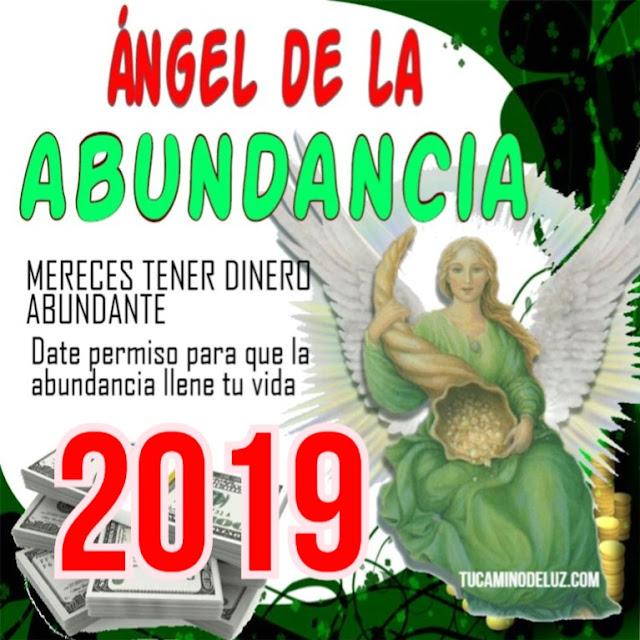 2019 ÁNGEL DE LA dIVINA ABUNDANCIA