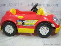 4 Mobil Mainan Aki Junior QJ1150AR Police Car