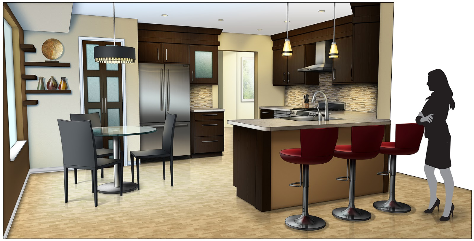 Designing to Learn Blog  How To Render a Realistic Interior in Photoshop How To Render a Realistic Interior in Photoshop
