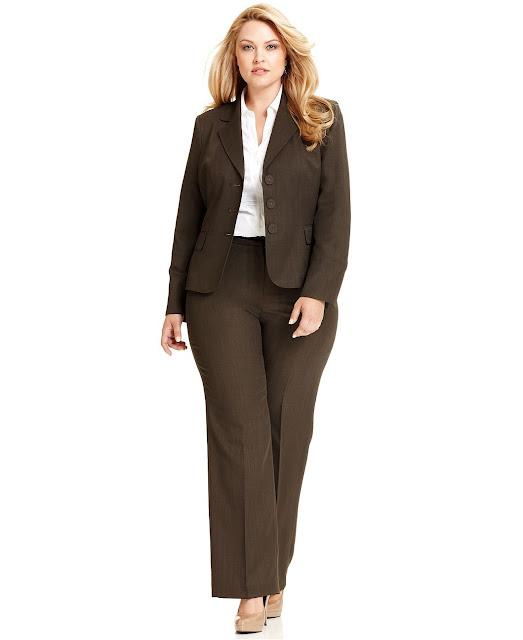 Plus Size Pant Suits For Women