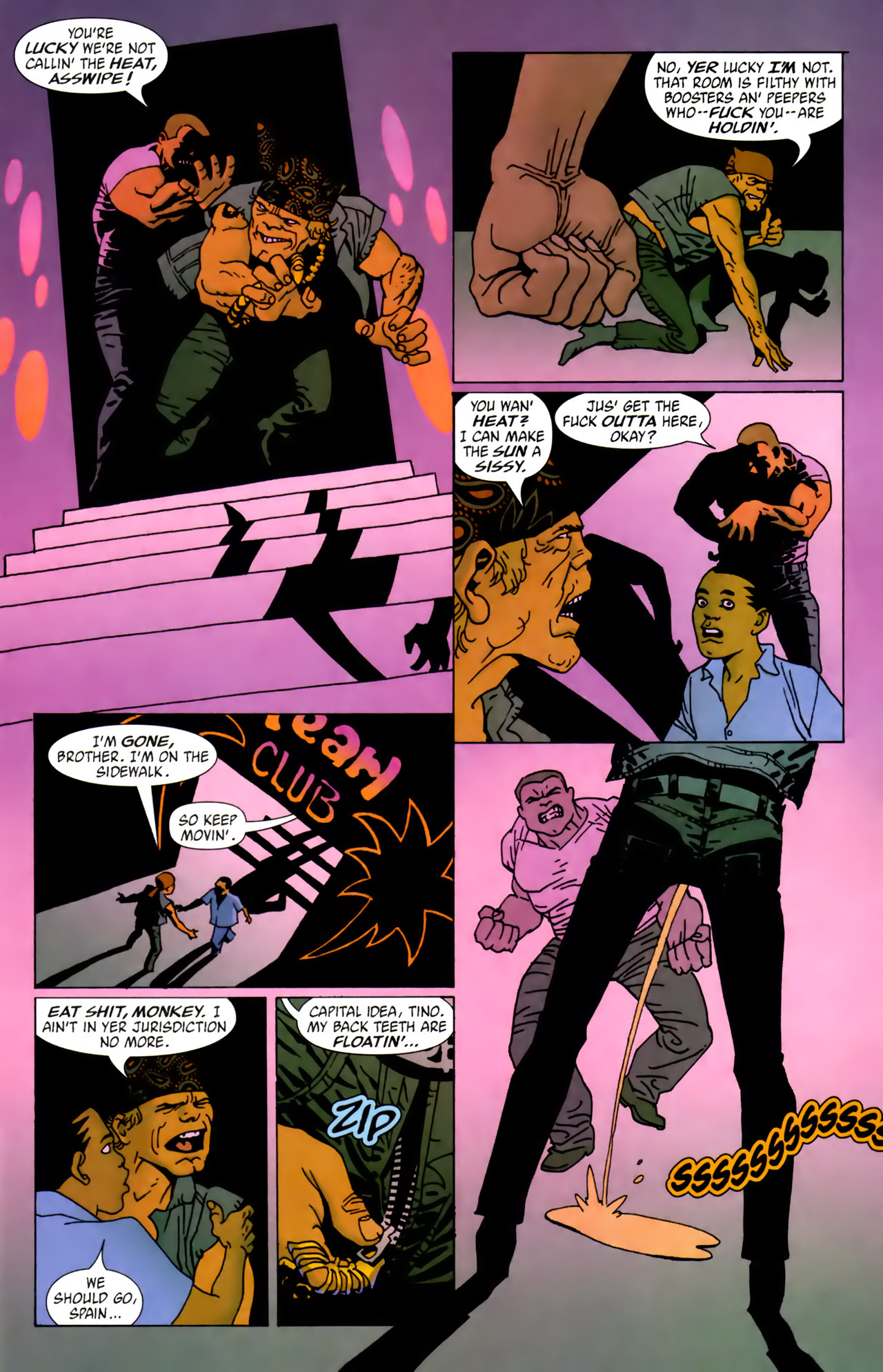 Read online 100 Bullets comic -  Issue #62 - 4