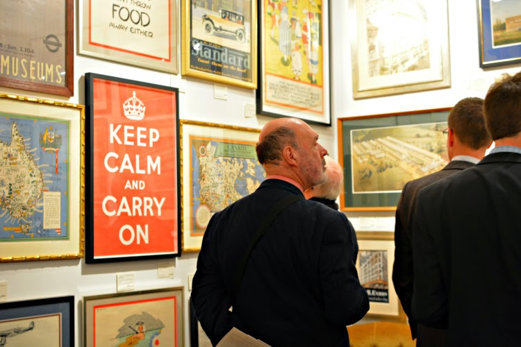 Original 1939 Keep Calm and Carry on poster Manning Fine Art
