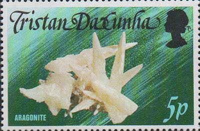 Sello de Aragonito coralino